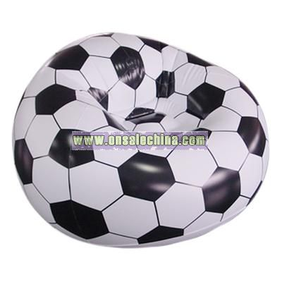 Inflatable Deluxe Football Sofa