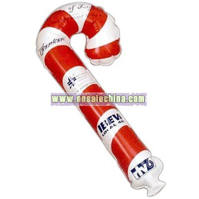 Inflatable waving stick with choice of shape
