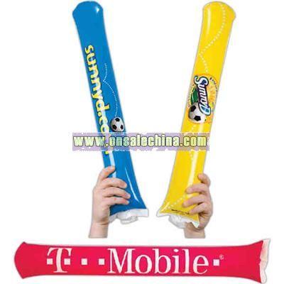 Inflatable noisemaker