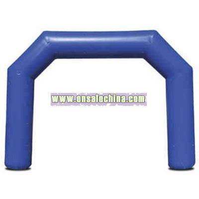 Custom cold air giant inflatable tunnel run through