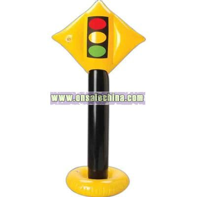 Stop light inflatable