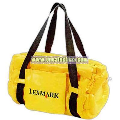 Inflatable cooler / duffel bag