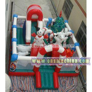 Inflatable Christmas Bouncy