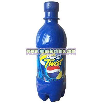 Soda bottle shape air sealed balloon inflatable