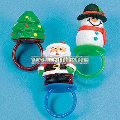 Holiday Frosted Sucker Rings