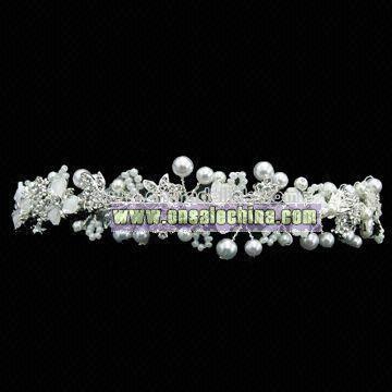 Silver Plated Bridal Tiara