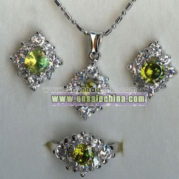 925 Silver Jewelry Set