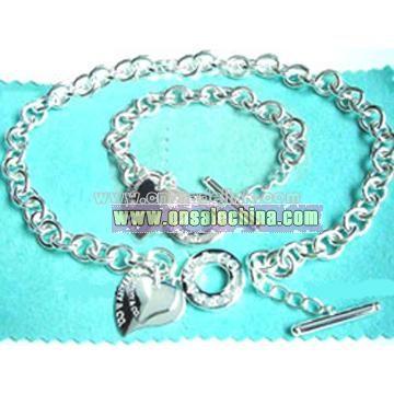 925 Sterling Silver Jewellery Set