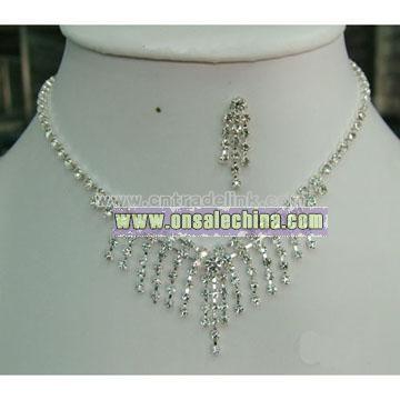 Bridal Necklace Jewelry Set