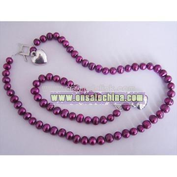 Fashion Pearl Jewellery Set