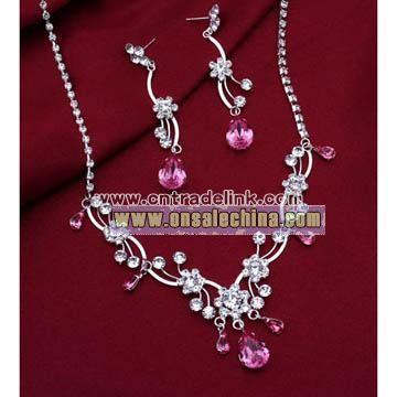 Fashion Jewelry-Bridal Jewelry Set