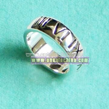 925 Sterling Silver Ring (Super A Quality)