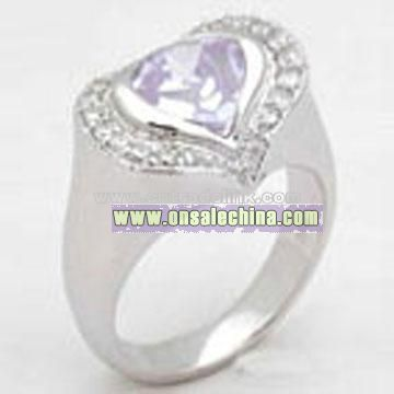 Fashion Ring / 925 Sterling Silver Fashionable Ring