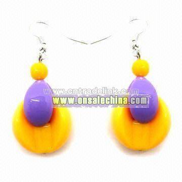 Acrylic Jewelry Earrings