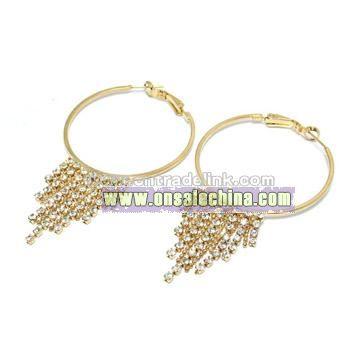 Brass Jewelry, Earring, Eardrop