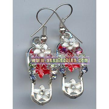 Fashion Jewelry---Slipper Earrings