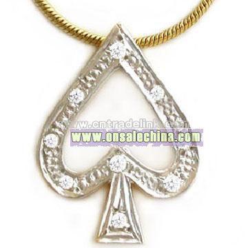 Poker Necklace