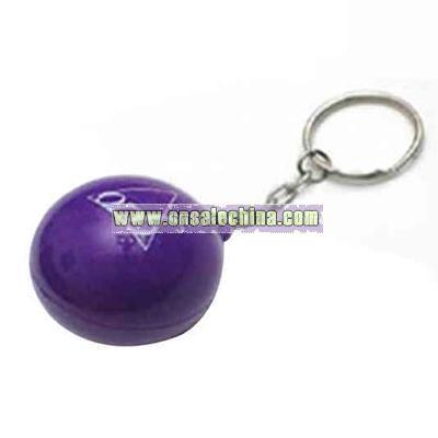 Magic 8 ball with key chain