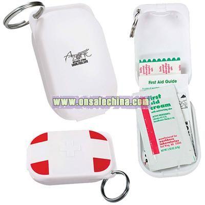 First Aid Kit Keychain