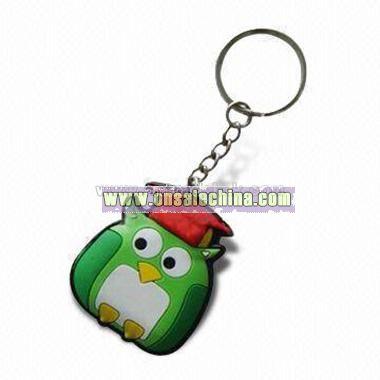 Soft Rubber Keychain