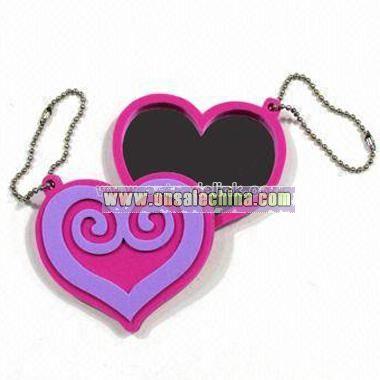 Keychain with Heart Shape