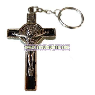 Metal Religious Keychain