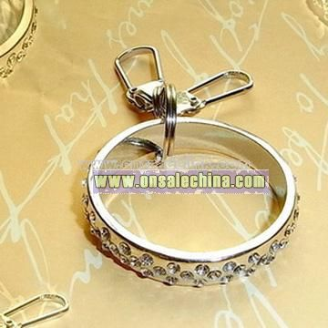 Diamond Keychain - Ring Style