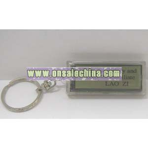 Solar Keychain LCD Display