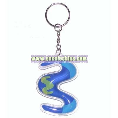 Liquid PVC Keychain