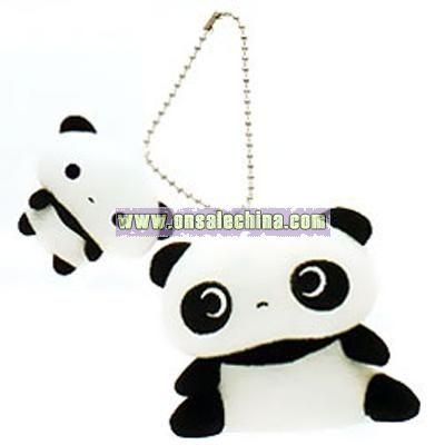 Tare Panda Plush Key Chain