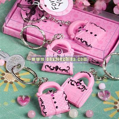 Handbag Keychain Favors