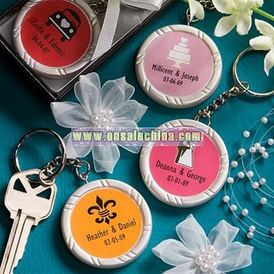 Personalized Keychain Favors
