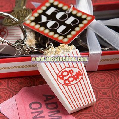 Popcorn Key Chain Favors