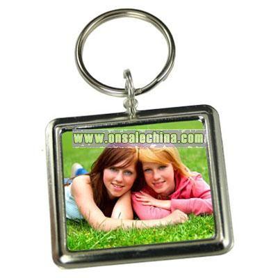 Make Your Own Custom Rectangle Photo Keychain Kit