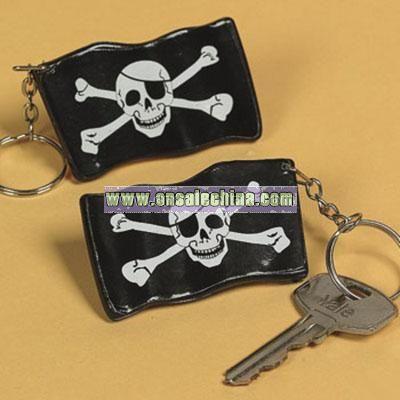 Pirate Flag Key Chains