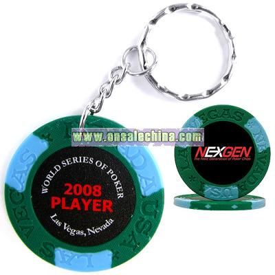 GREEN KEY CHAIN COLLECTIBLE ITEM