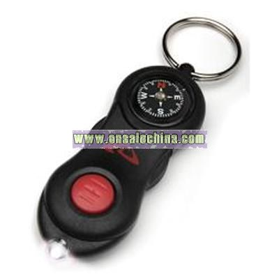 Black Keychain Light