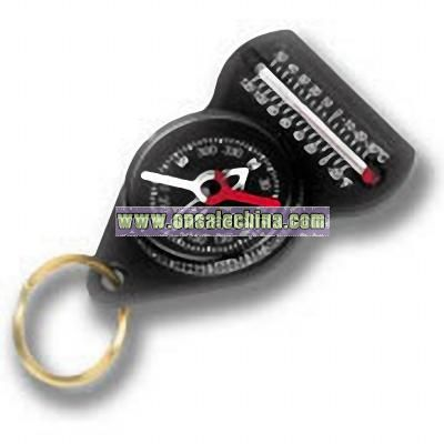 Forecaster Compass with keychain