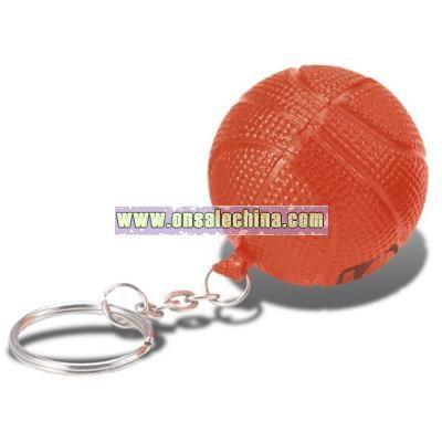 Basketball Keychain Stress Ball