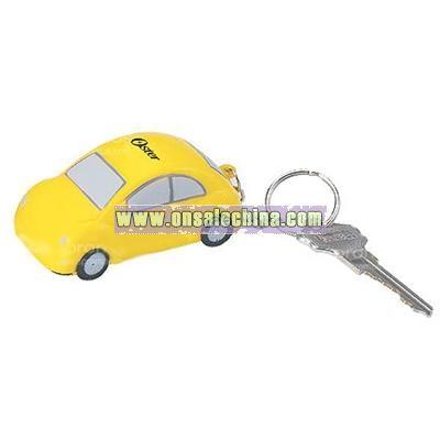 Car Keychain Stress Ball