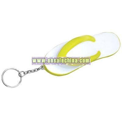 Flip Flop Keychain Stress Ball