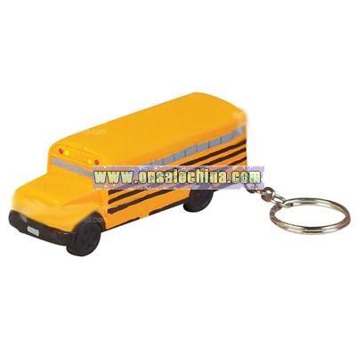 School Bus Keychain Stress Ball