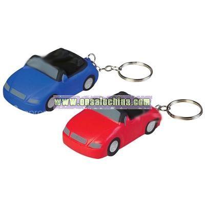 Sports Car Keychain Stress Ball