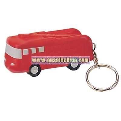 Fire Truck Keychain Stress Ball