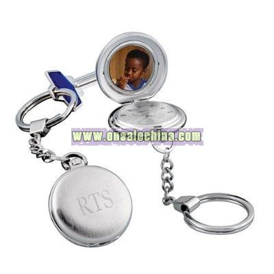 Pocket Watch Keychain Lockets 2-pk.