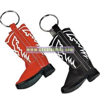 Cowboy Boot Keychain Set