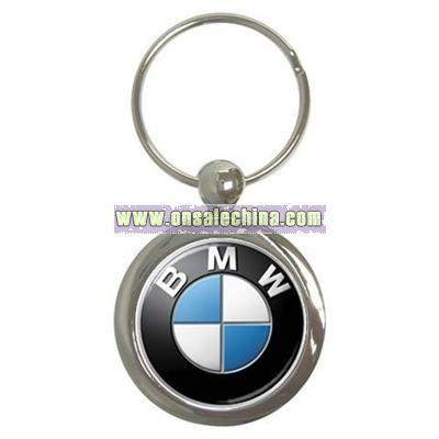 BMW Logo Key Chain Round