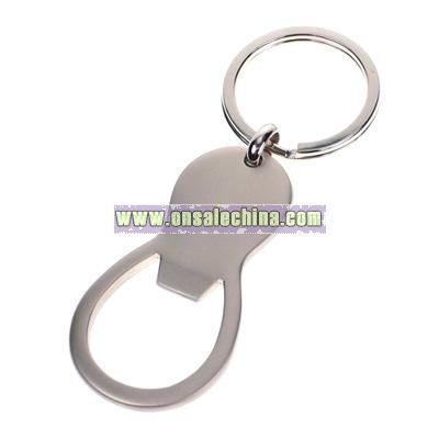Circular Bottle Opener Key Chain