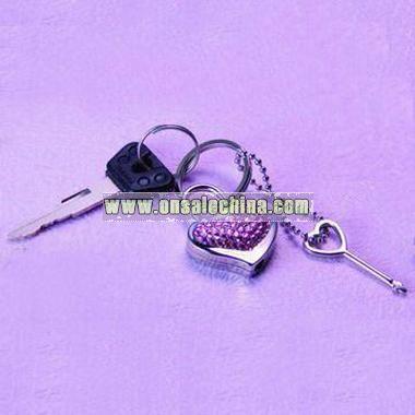 Heart-shaped Fancy Keychain