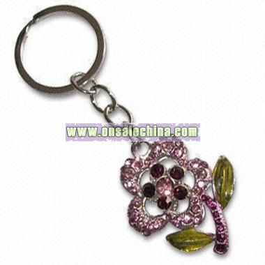 Metal Keychain in Customized Sizes